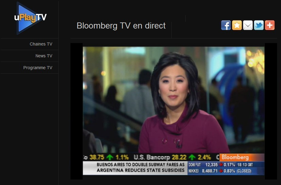 Regarder Bloomberg TV en streaming gratuit, JT Scarlet Fu