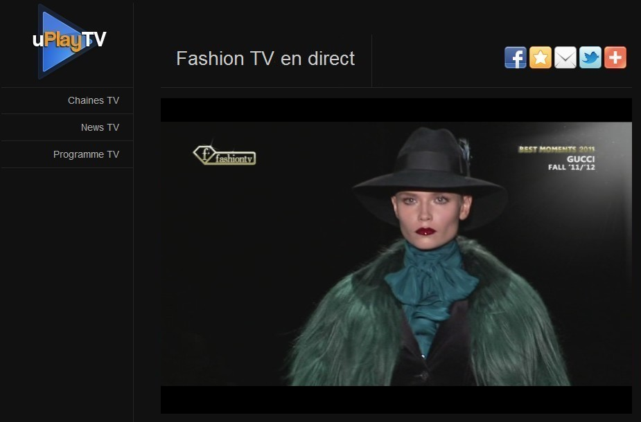 Regarder Fashion TV en streaming gratuit, défilé de mode Gucci
