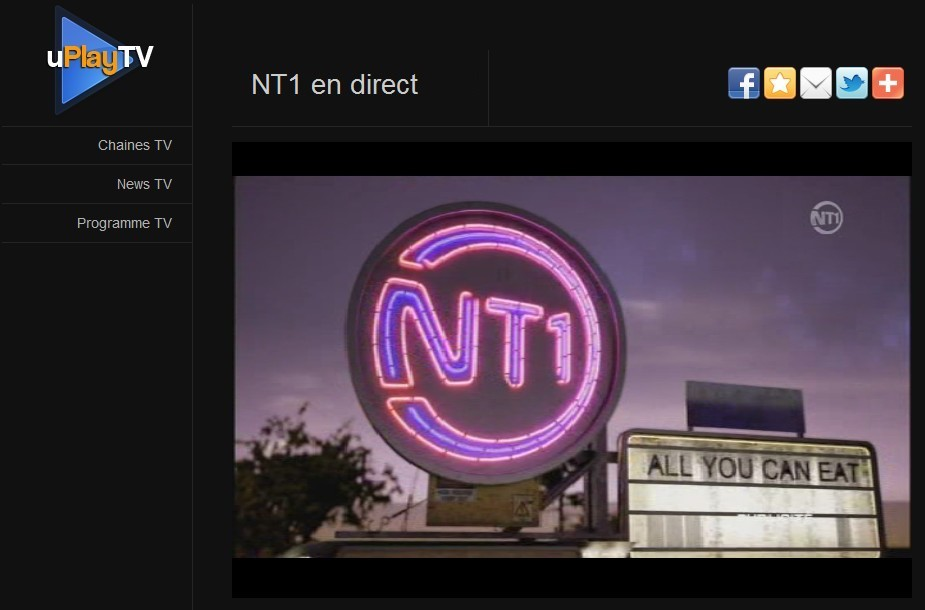 Regarder NT1 en streaming gratuit, publicité jingle
