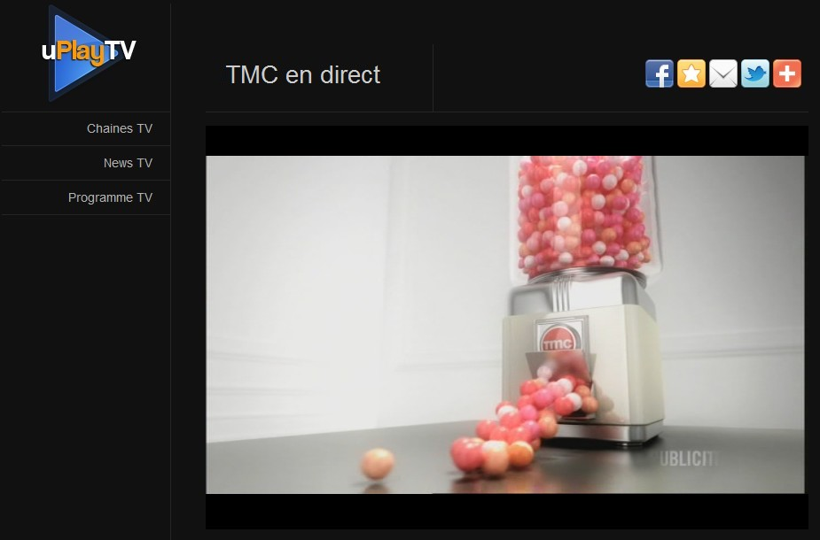 Regarder TMC en streaming gratuit, publicité jingle